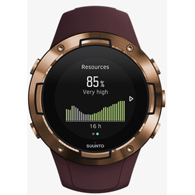 Suunto 5 Montre GPS sport, burgundy/copper